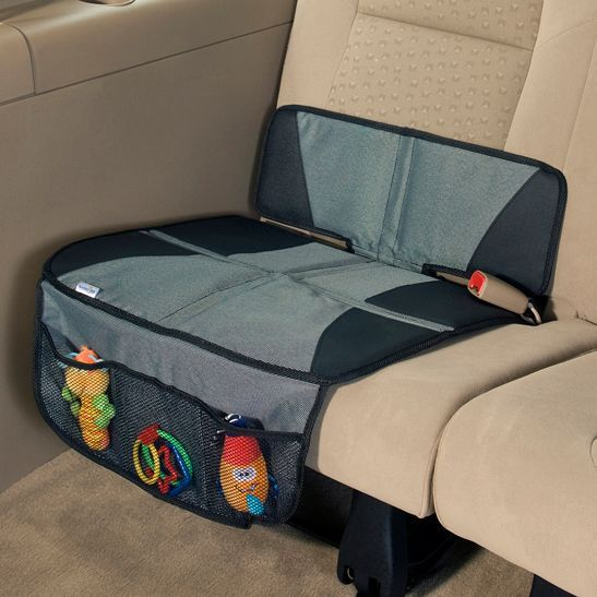 Car seat protection mat
