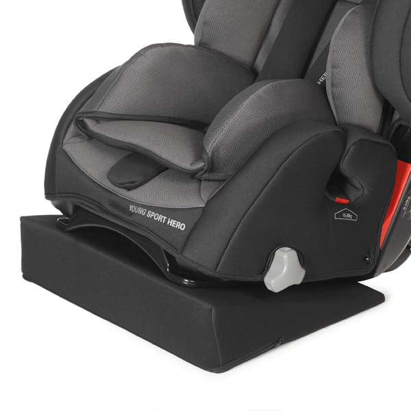 Seat wedge, below (+10°), max 15° seat tilt additional use of rest position.