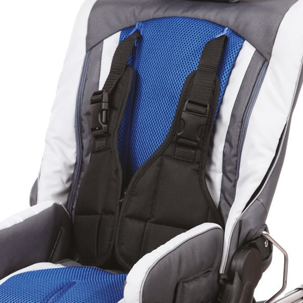 Vest style chest harness support